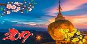 Hành Trình Yangon - Bago - Golden Rock Mùng 2 Tết Nguyên Đán 2019