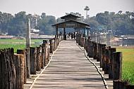 Cầu cổ U Bein niềm tự hào của Myanmar