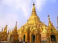 Chiêm Ngưỡng Ngôi Chùa Vàng Đẹp Lộng Lẫy Shwedagon