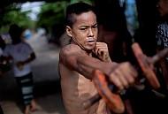 Đến Thăm Lò Võ Vỉa Hè Ở Thành Phố Yagon - Myanmar