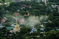 Đỉnh Mandalay mê hoặc khi hoàng hôn xuống