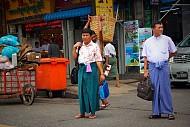 Longyi Myanmar: Khi đàn ông mặc váy