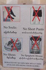 Những điều xa xỉ tuyệt đối đừng làm khi du lịch tại Myanmar