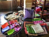 Tuyệt phẩm lụa tơ sen cao cấp của Myanmar