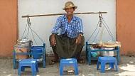 Vẻ đẹp ẩm thực đường phố tại Myanmar