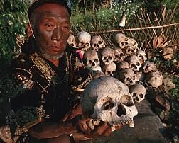 Chuyện lạ bộ lạc thu thập đầu lâu tại Myanmar