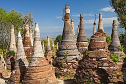 Đến Thăm Ngôi Làng Có 1000 Ngọn Tháp Cổ Ở Myanmar
