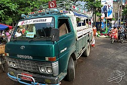 Du Lịch Myanmar khởi hành ngày 29/04/2017: YANGON - BAGO - GOLDEN ROCK