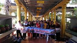 Hình Ảnh Đoàn Myanmar Du Xuân Mậu Tuất 2018