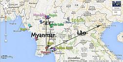 Myanmar ở đâu ? Miến Điện ở đâu ?, Burma ở đâu ?, Union ở đâu ?
