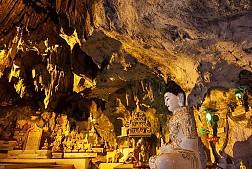 Trải nghiệm thú vị khi ở hang động Pindaya của Myanmar