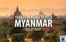 VẺ ĐẸP HUYỀN BÍ CỦA DU LỊCH MYANMAR THU HÚT DU KHÁCH