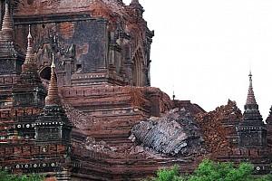Chùa cổ nghìn năm tuổi bị phá hủy trong vụ động đất Myanmar