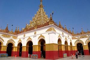 Chùa Mahamuni Ở Mandalay Myanmar