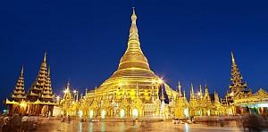 Chùa Shwedagon – Sự nguy nga khó tả ở nơi cất giữ bảo vật của Đức Phật
