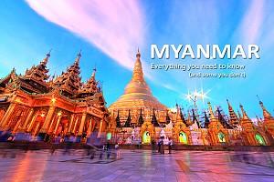 Dừng chân trên đất khách Myanmar để thời gian ngưng lại