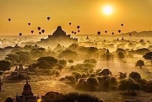 Đừng ngủ quên khi bình minh Bagan đã thức dậy