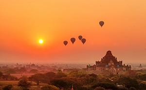 Khám Phá Bình Minh Huyền Ảo Nơi Thánh Địa Bagan
