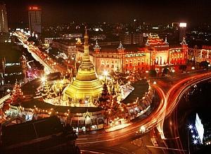Khám phá Yangon về đêm