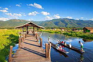 Lạc vào thế giới mộng ảo - hồ Inle của Myanmar
