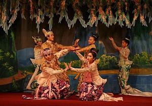 Lễ Hội Truyền Thống Âm Nhạc Myanmar