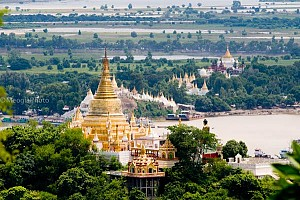 Những Ngôi Chùa Lộng Lẫy Ở Mandalay
