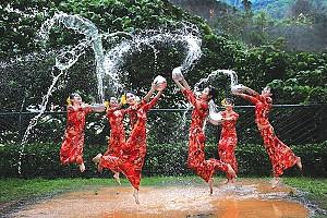 Thingyan, Myanmar - 1 trong 8 lễ hội nước độc đáo trên thế giới