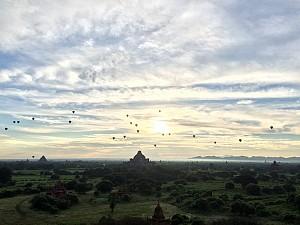 Trải nghiệm bình minh Bagan, thời gian đẹp nhất trong ngày tại đây