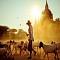 Những bức ảnh huyền ảo về đất phật Myanmar
