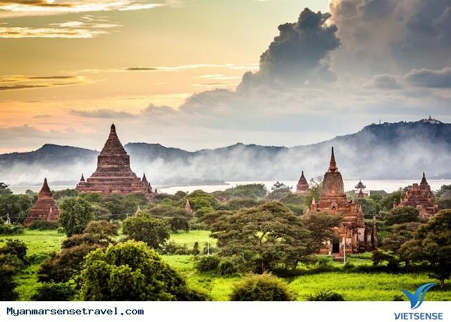 Đừng ngủ quên khi bình minh Bagan đã thức dậy - Ảnh 1