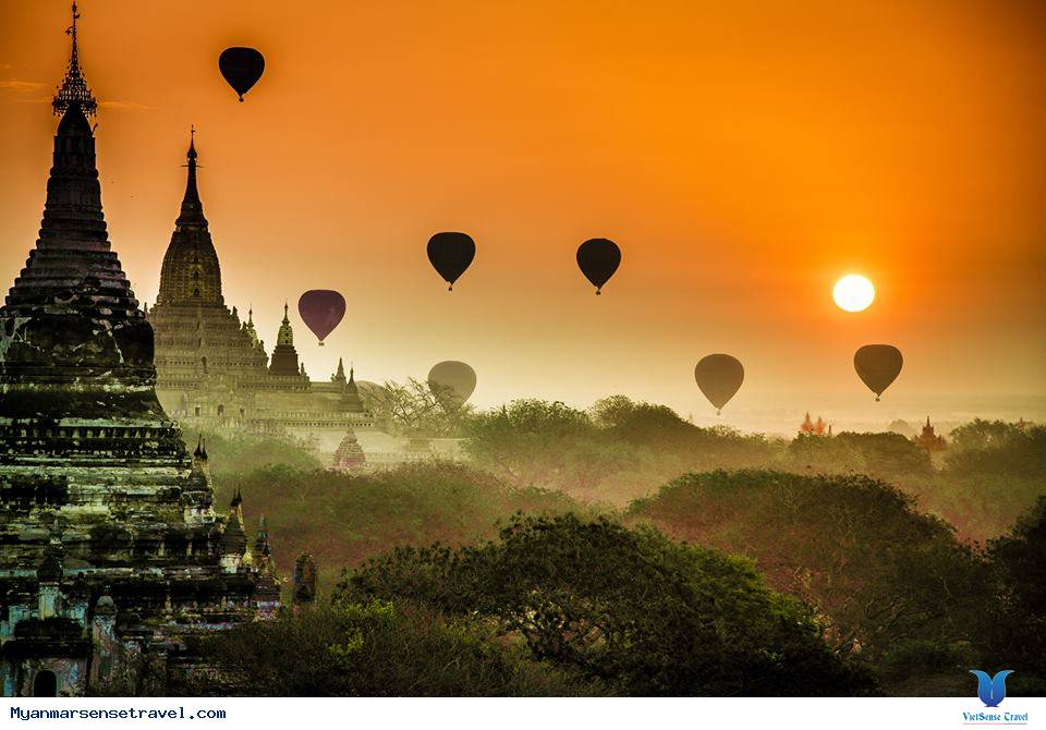Bagan - thành phố cổ ở Myanmar,bagan  thanh pho co o myanmar