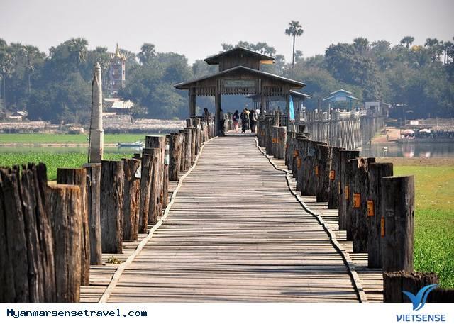 Cầu cổ U Bein niềm tự hào của Myanmar,cau co u bein niem tu hao cua myanmar