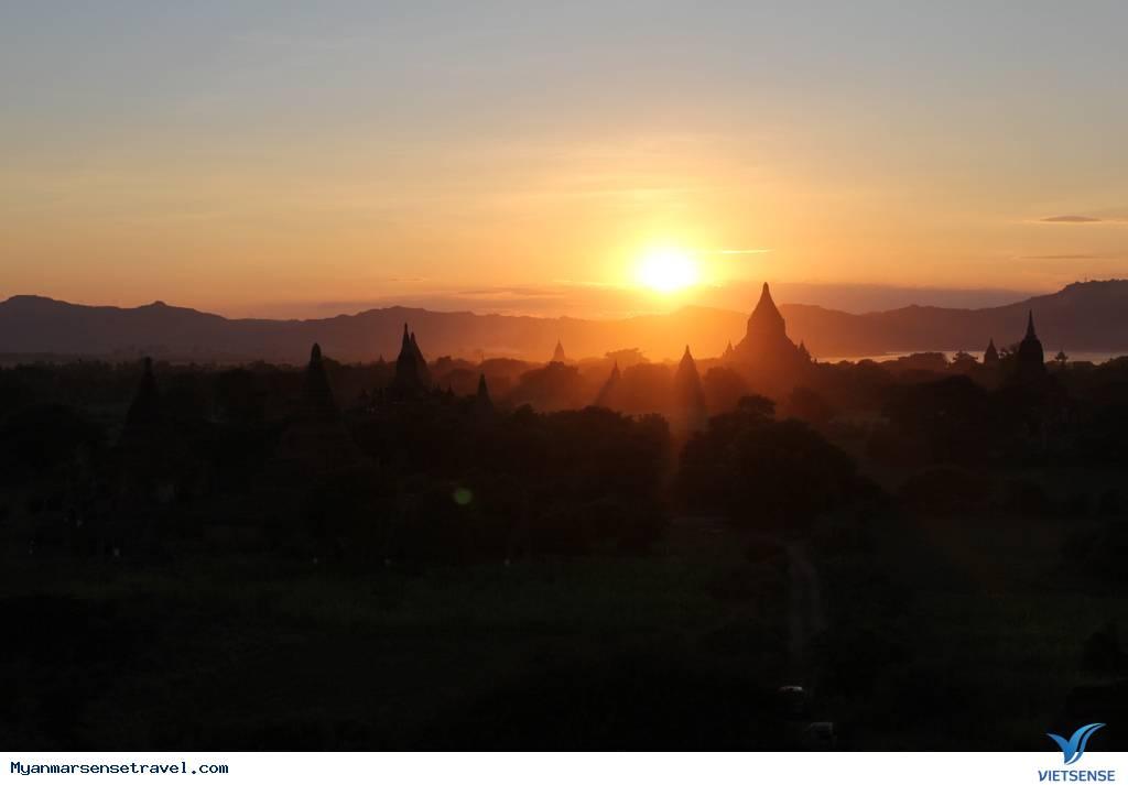 Chiêm ngưỡng cảnh hoàng hôn tuyệt đẹp ở 3 ngôi chùa tại Myanmar ,chiem nguong canh hoang hon tuyet dep o 3 ngoi chua tai myanmar