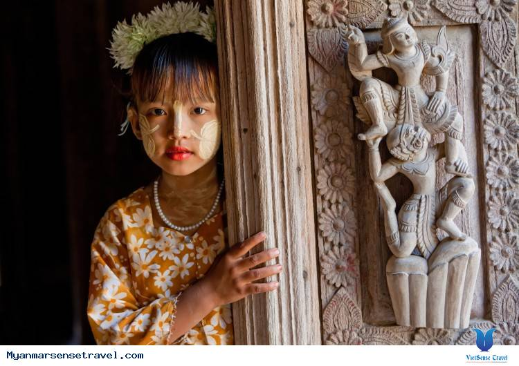 Chiêm ngưỡng tập quán Thanakha của người dân Myanmar ,chiem nguong tap quan thanakha cua nguoi dan myanmar