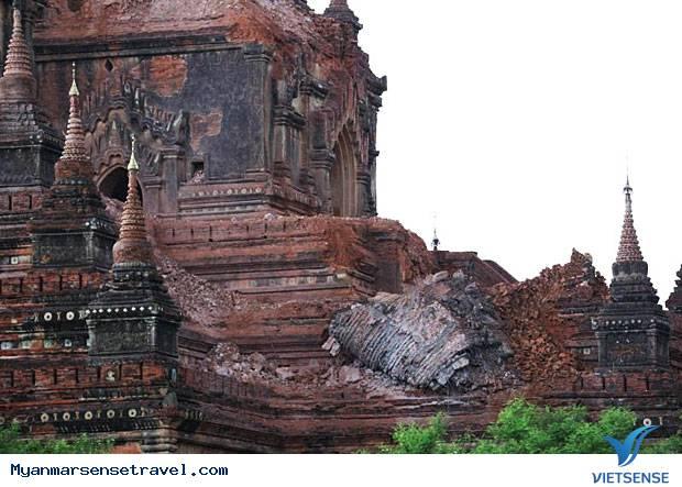 Chùa cổ nghìn năm tuổi bị phá hủy trong vụ động đất Myanmar,chua co nghin nam tuoi bi pha huy trong vu dong dat myanmar