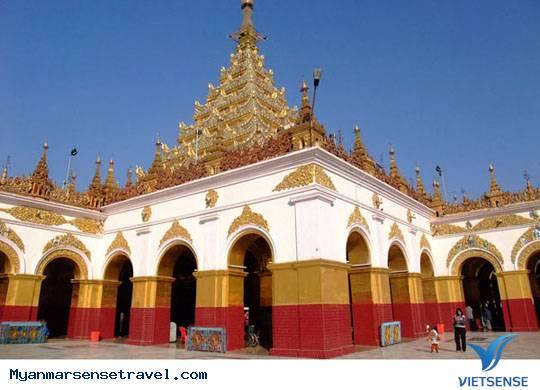 Chùa Mahamuni Ở Mandalay Myanmar,Chua Mahamuni O Mandalay Myanmar