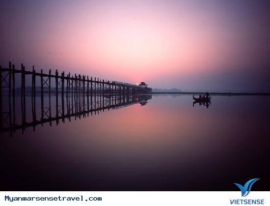 Đến cầu U Bein ngắm hoàng hôn đẹp nhất thế giới,den cau u bein ngam hoang hon dep nhat the gioi