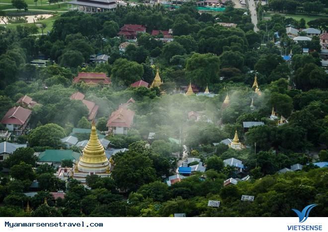Đỉnh Mandalay mê hoặc khi hoàng hôn xuống,dinh mandalay me hoac khi hoang hon xuong