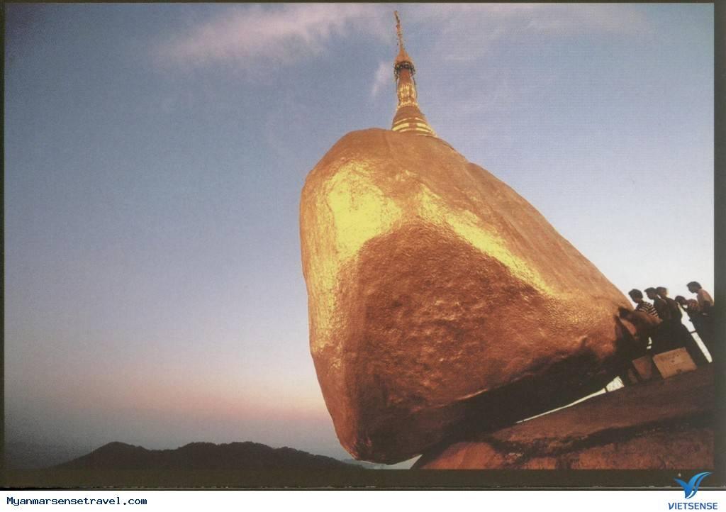 Du Lịch Myanmar - Chùa Kyaikhtiyo