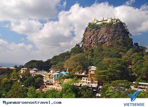 Du Lịch Myanmar - Huyền Thoại Núi Thiêng Popa