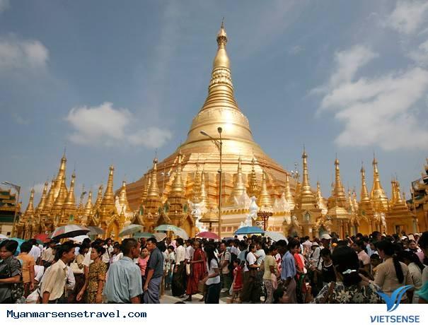 Du Lịch Myanmar 5 Ngày 4 Đêm: Tp. HCM - Yangon - Bago - Thanlyin