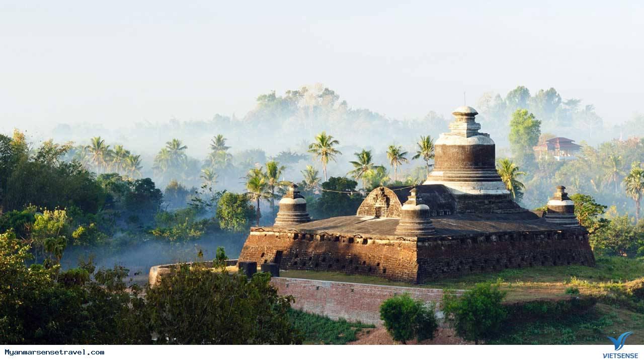 """Đưa bạn ghé thăm thành phố """"bị bỏ rơi"""" Mrauk U của Myanmar,dua ban ghe tham thanh pho bi bo roi mrauk u cua myanmar"""