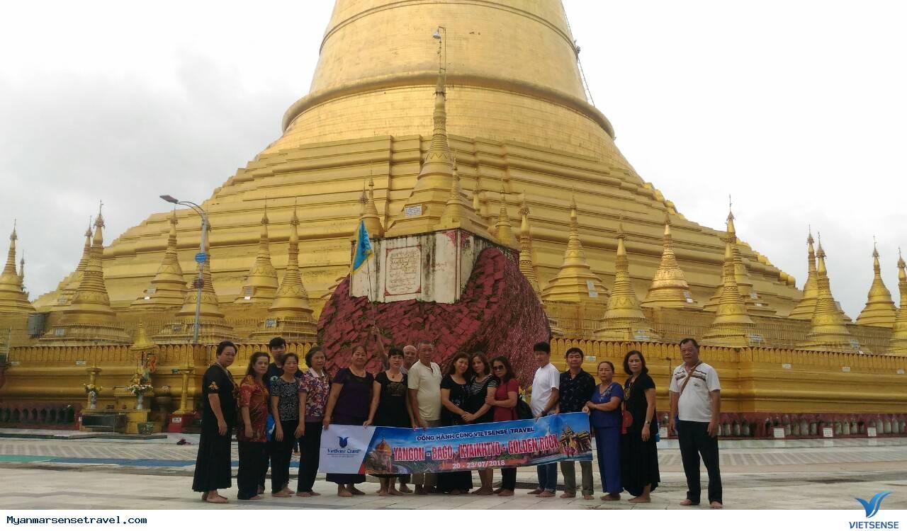 Hình Ảnh Đoàn Myanmar 20 - 23/07/2018