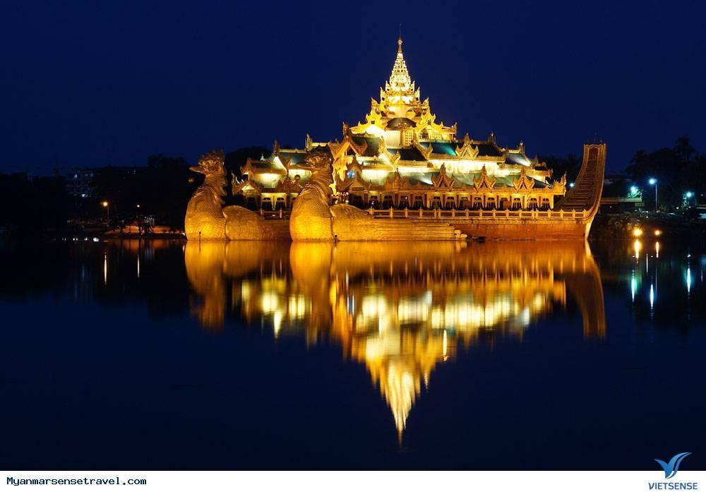Hồ Kandawgyi- địa điểm du lịch Myanmar tuyệt đẹp,ho kandawgyi dia diem du lich myanmar tuyet dep
