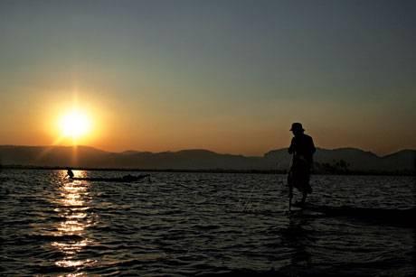 Inle Lake – Dưới bóng mặt trời