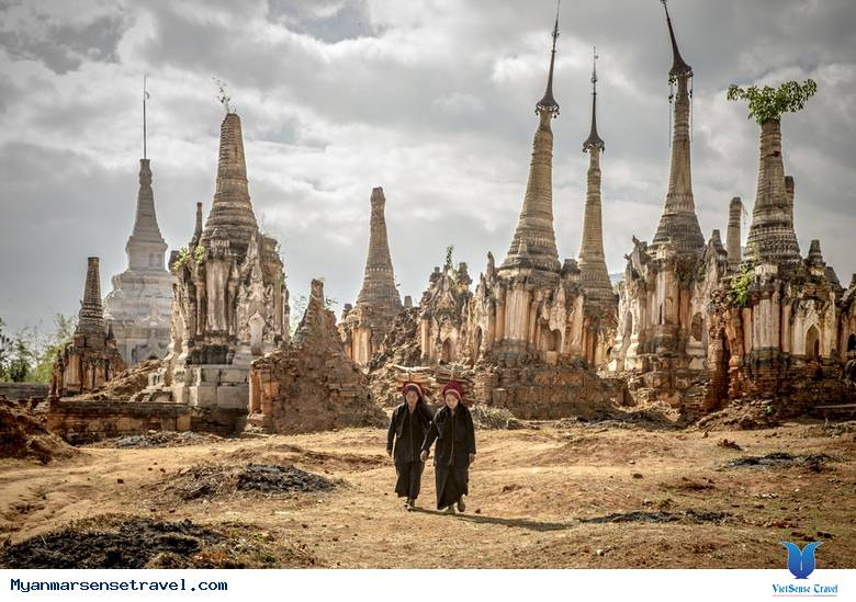 Khám phá khu đền Nyaung cổ kính ở Myanmar,kham pha khu den nyaung co kinh o myanmar