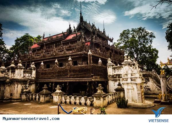 Khám phá Shwenandaw – ngôi chùa hay tu viện gỗ tếch độc nhất tại Myanmar,kham pha shwenandaw  ngoi chua hay tu vien go tech doc nhat tai myanmar