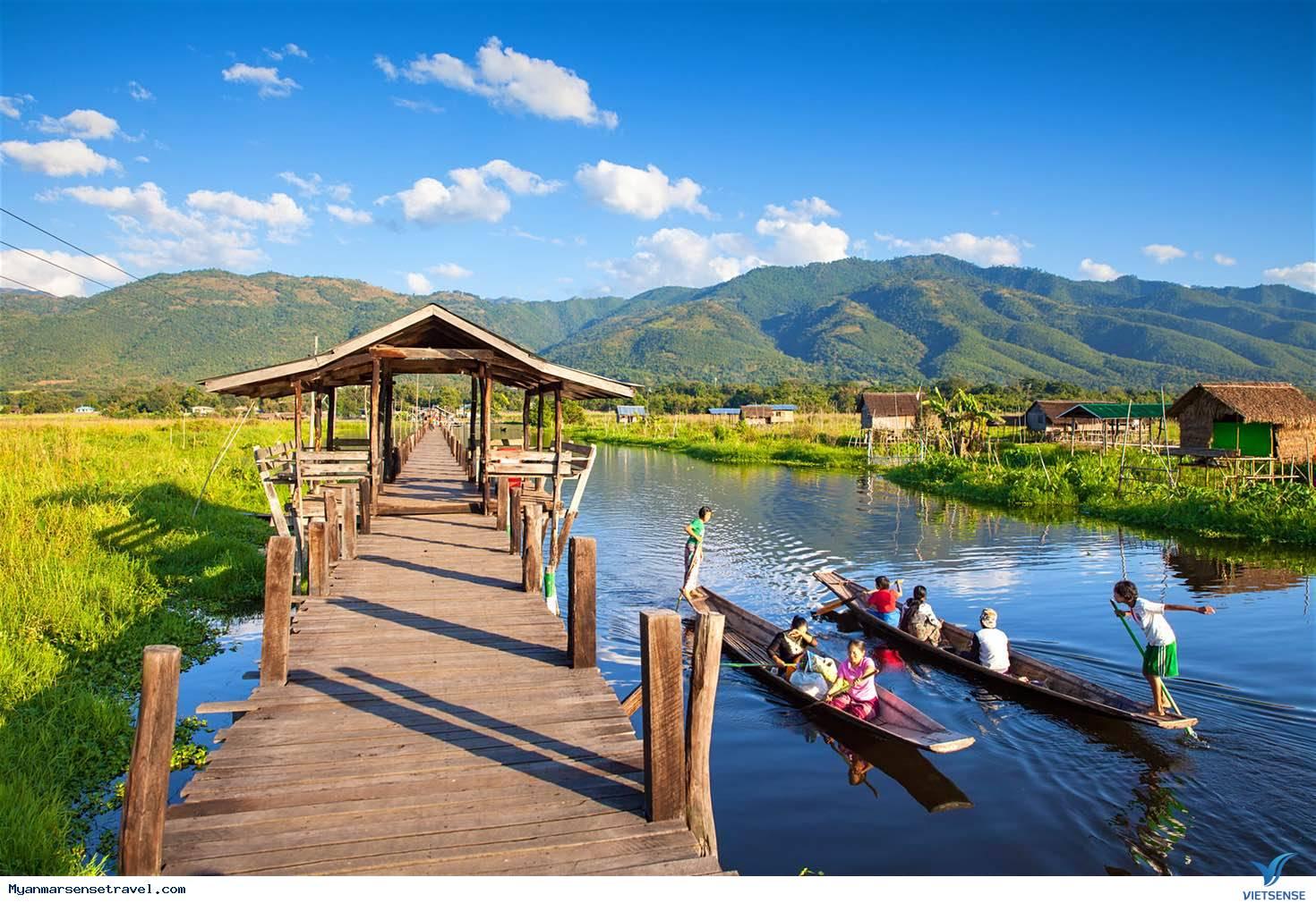 Lạc vào thế giới mộng ảo - hồ Inle của Myanmar,lac vao the gioi mong ao  ho inle cua myanmar