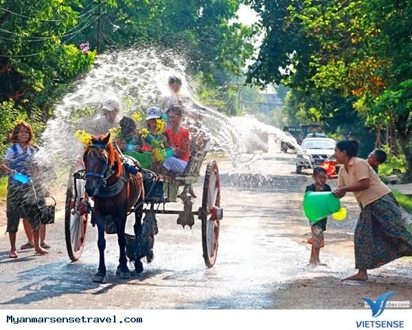 Lễ Hội Mừng Năm Mới Thingyan,Le Hoi Mung Nam Moi Thingyan