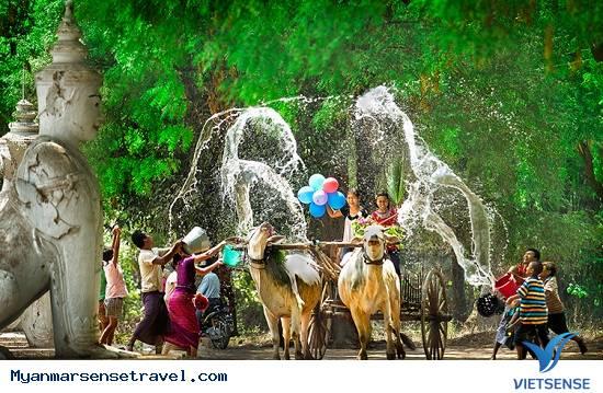 Lễ Hội ThingYan - Văn Hóa Đón Năm Mới Độc Đáo Của Myanmar,le hoi thingyan  van hoa don nam moi doc dao cua myanmar